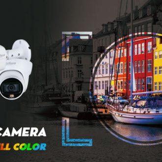 Lắp đặt camera quan sát hỗ trợ Full Color - Starlight có màu ban đêm