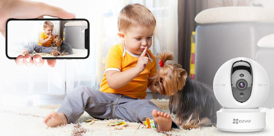 Giải pháp lắp đặt camera trông trẻ trong đợt dịch bệnh Corona