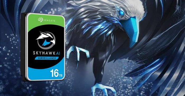 Ổ cứng giám sát Seagate SkyHawk AI 16TB ST16000VE000