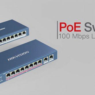 Video Switch PoE Hikvision chất lượng cao, truyền tải tín hiệu nhanh