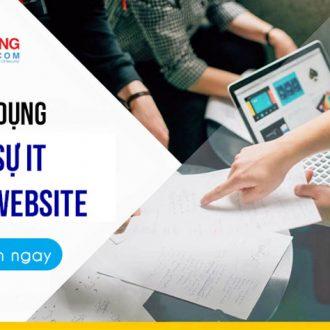 Tuyển dụng nhân viên IT, quản trị website
