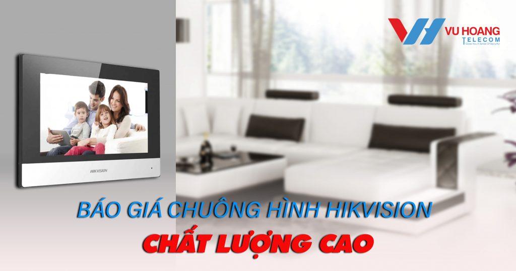 Báo giá chuông hình Hikvision 2020