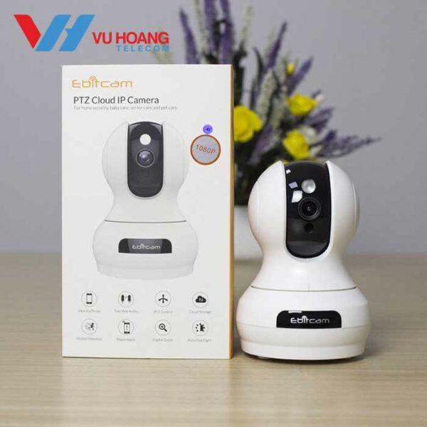 Camera IP Wifi EBITCAM E3 1080P thực tế - 3