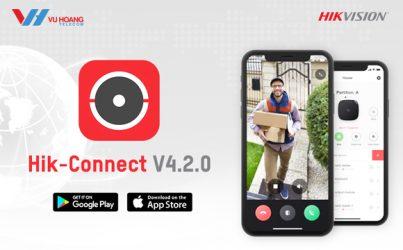 bản cập nhật Hik-connect V4.2.0