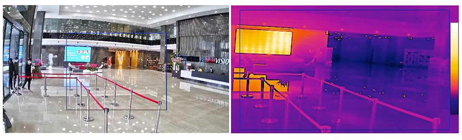 Hình ảnh camera ảnh nhiệt chuyên nghiệp đo thực tế