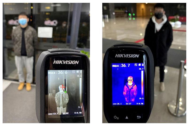 Demo camera ảnh nhiệt cầm tay cơ bản