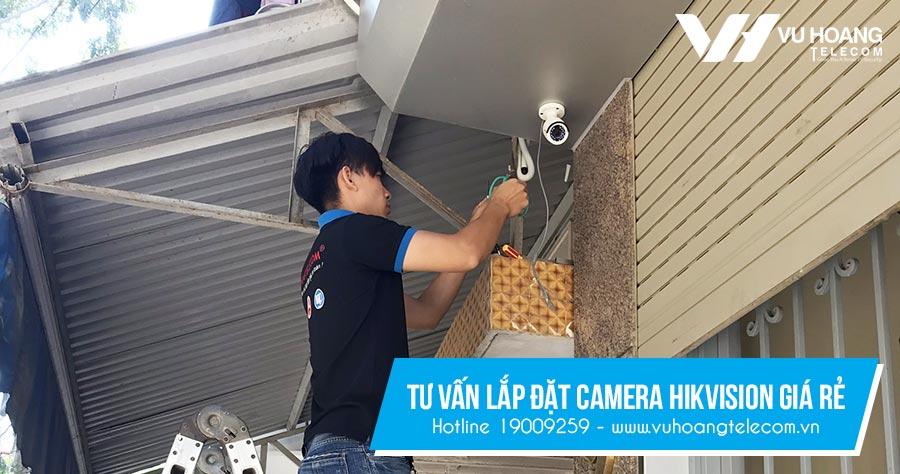 Gói lắp đặt camera giá rẻ nhất của Hikvision