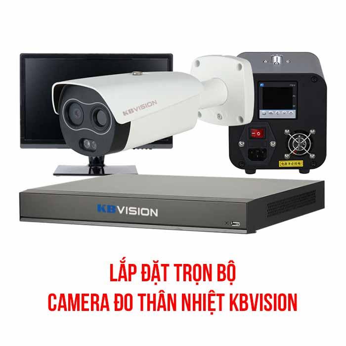Trọn bộ camera cảm biến thân nhiệt KBVISION
