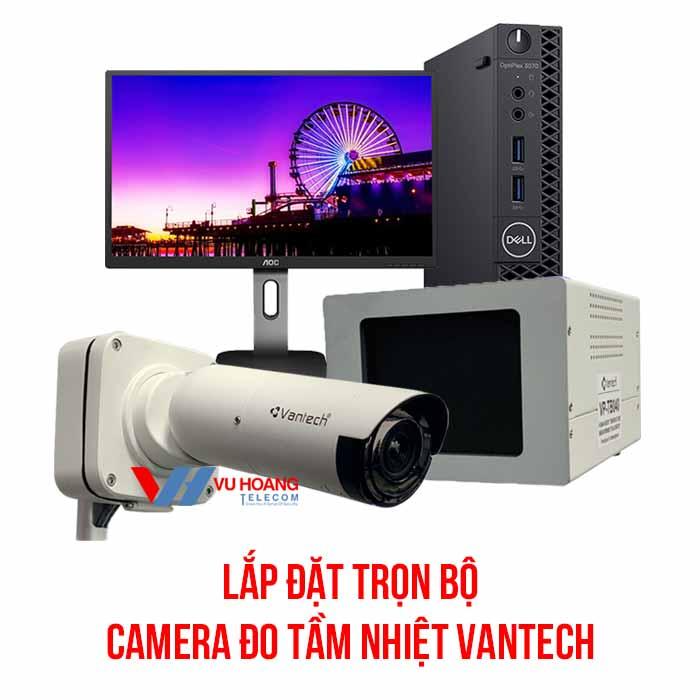 Trọn bộ camera đo tầm nhiệt VANTECH giá tốt