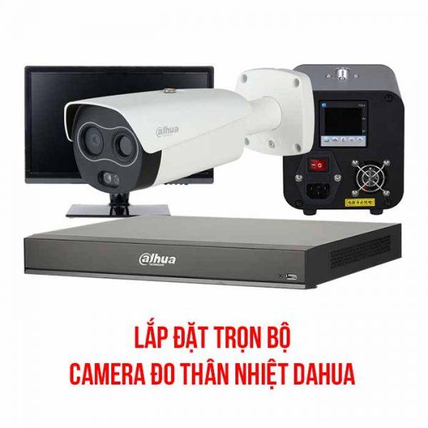 Lắp đặt trọn bộ camera đo thân nhiệt Dahua