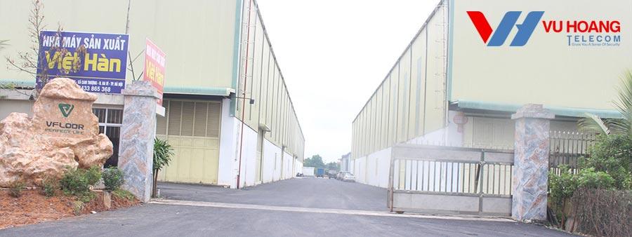 Nhà máy sản xuất Việt Hàn