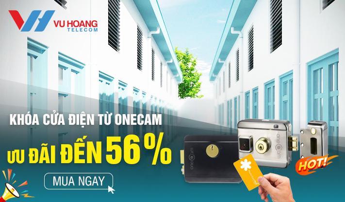 Khóa cửa điện từ ONECAM giá ưu đãi