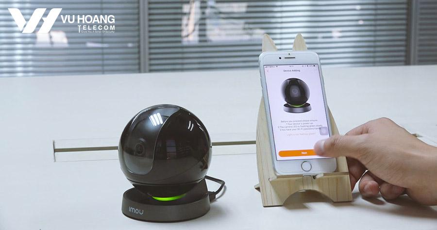 Camera Ranger Pro IQ kết nối qua App dễ dàng