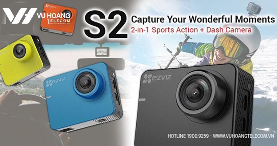 Camera hanh trinh EZVIZ S2