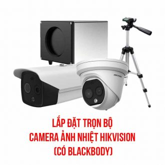 Lắp đặt camera ảnh nhiệt HIKVISION có Blackbody
