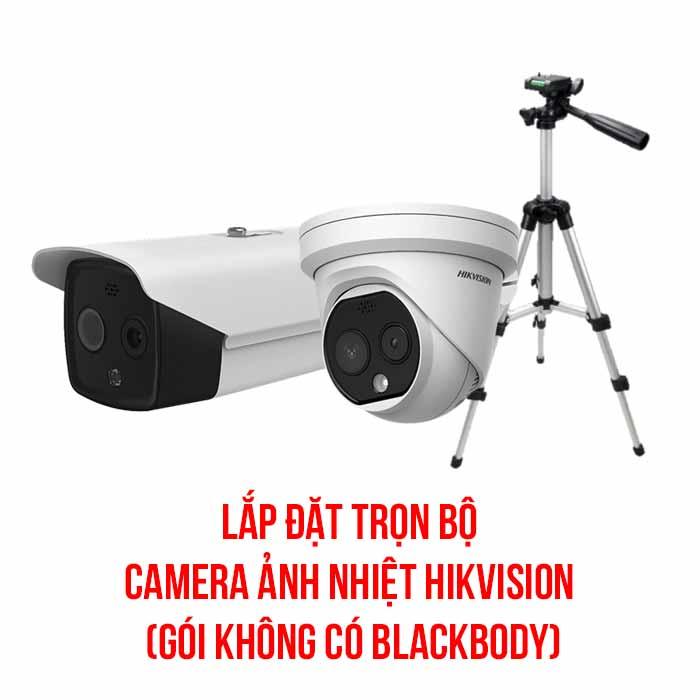 Lắp đặt camera ảnh nhiệt HIKVISION gói cơ bản