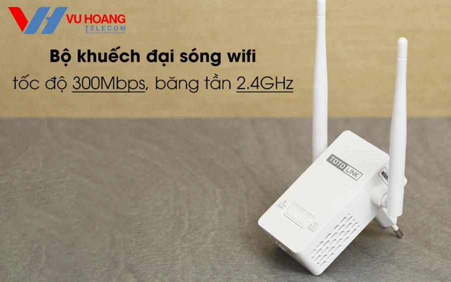 Bọ khuếch đại sóng Wifi TOTO-LINK
