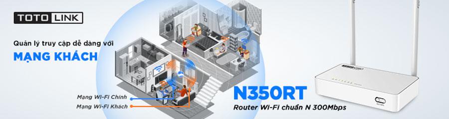 Bọ khuếch đại sóng Wifi TOTO-LINK N350RT