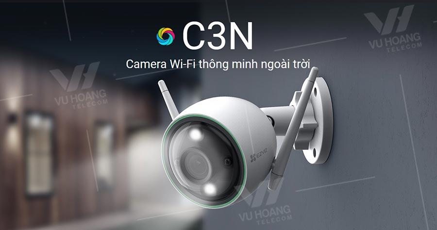 Camera Wifi tích hợp AI EZVIZ C3N 1080P