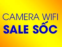 Camera Wifi Sale Sốc