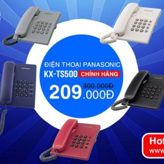 Sở hữu ngay điện thoại bàn KX-TS500MX chỉ với 209K