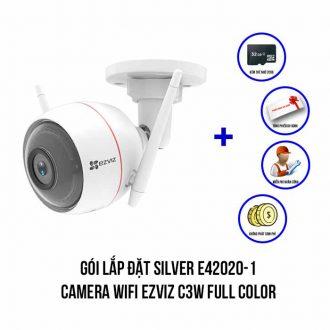 Lắp đặt camera Wifi EZVIZ C3W Full Color