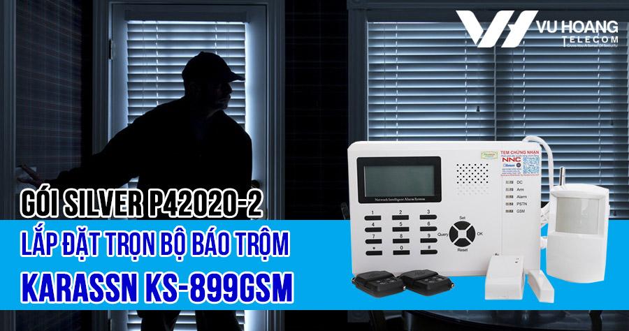 Lắp đặt báo trộm Karassn KS-899GSM (SILVER K42020-2) giá rẻ