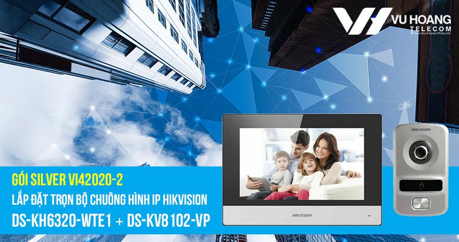 Lắp đặt bộ chuông hình IP HIKVISION (SILVER VI42020-2) giá rẻ