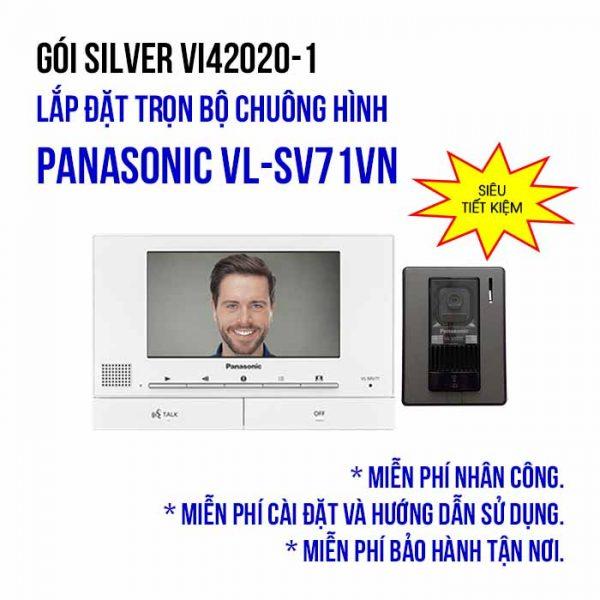 Lắp đặt bộ chuông cửa màn hình Panasonic VL-SV71VN