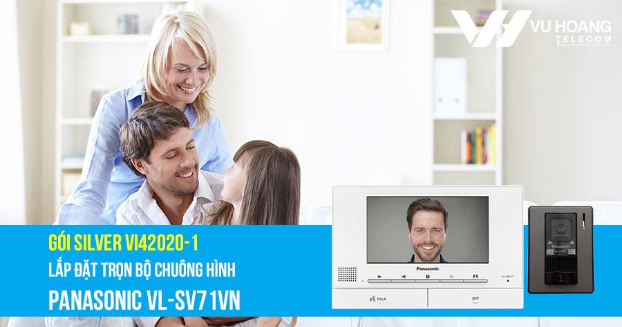 Lắp đặt trọn bộ chuông cửa màn hình Panasonic VL-SV71VN giá rẻ