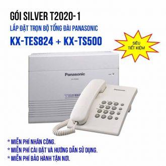 Lắp đặt trọn bộ tổng đài Panasonic SILVER T2020-1