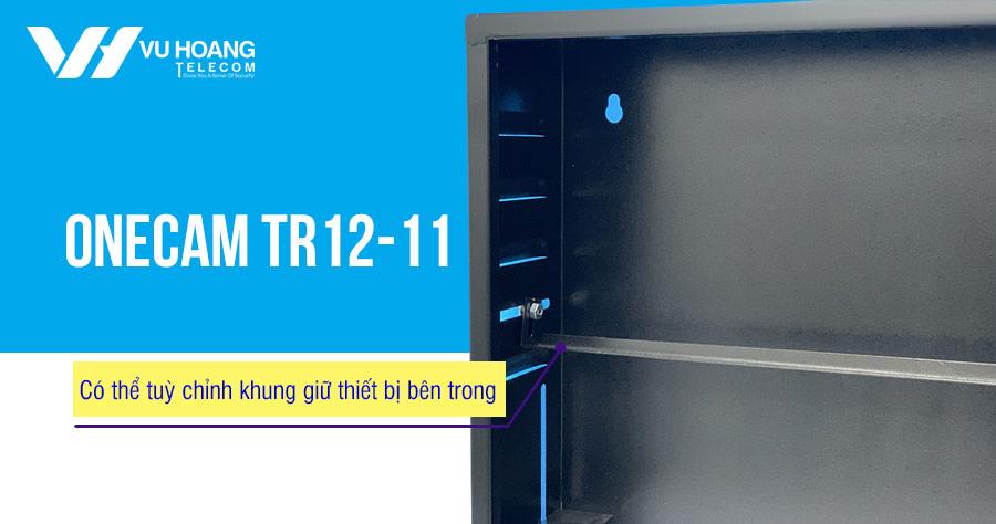 Tủ rack có khóa TR12-11 có thể tùy chỉnh khung bên trong