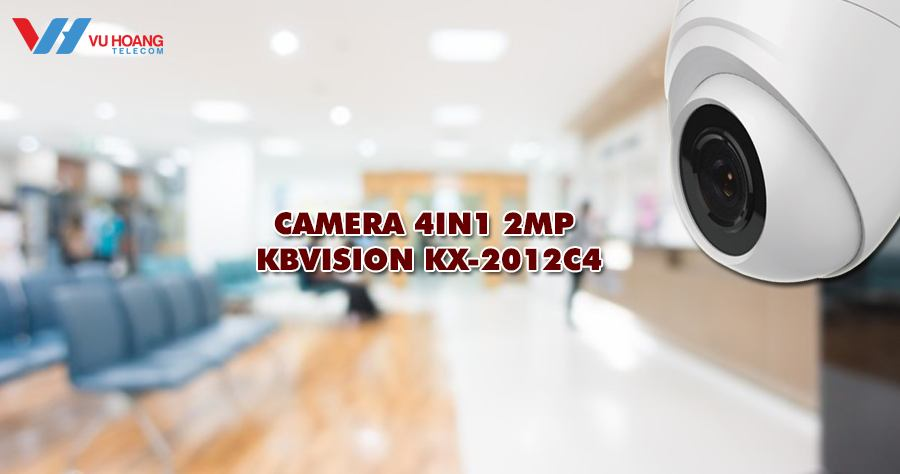 Camera 4in1 KX-2012C4 dạng bán cầu