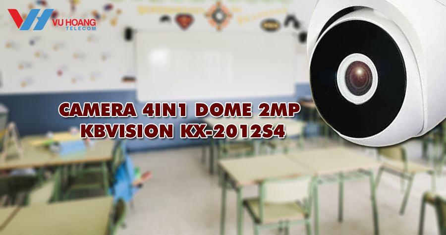 Camera 4in1 Dome 2MP KX-2012S4