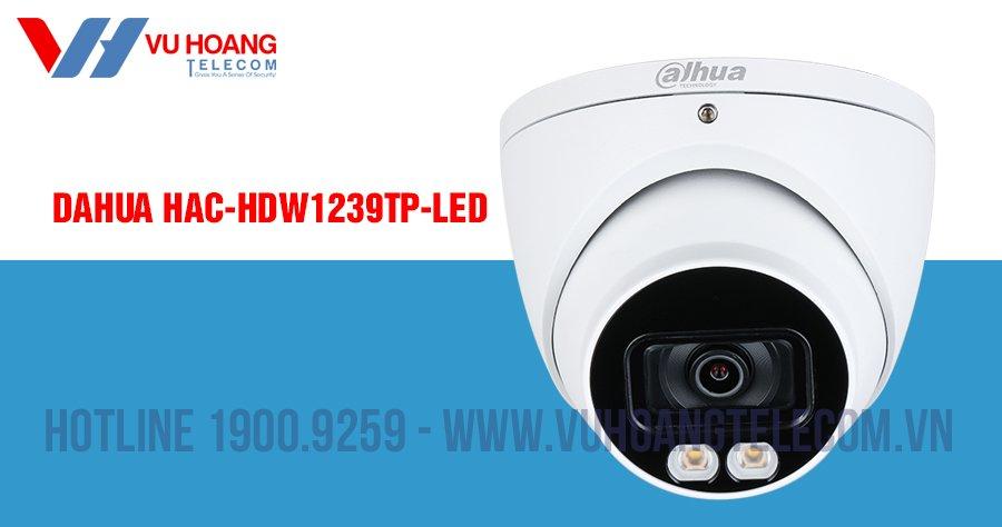 Camera HDCVI 2MP Full Color DAHUA DH-HAC-HDW1239TP-LED