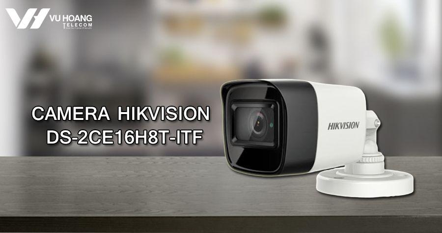Camera HDTVI Starlight 5MP Hikvision DS-2CE16H8T-ITF