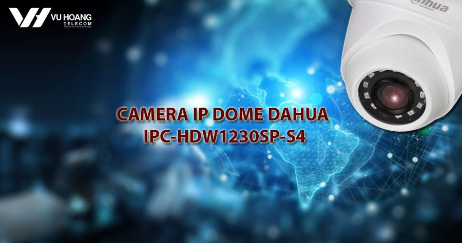 Camera IP Dome 2.0MP IPC-HDW1230SP-S4