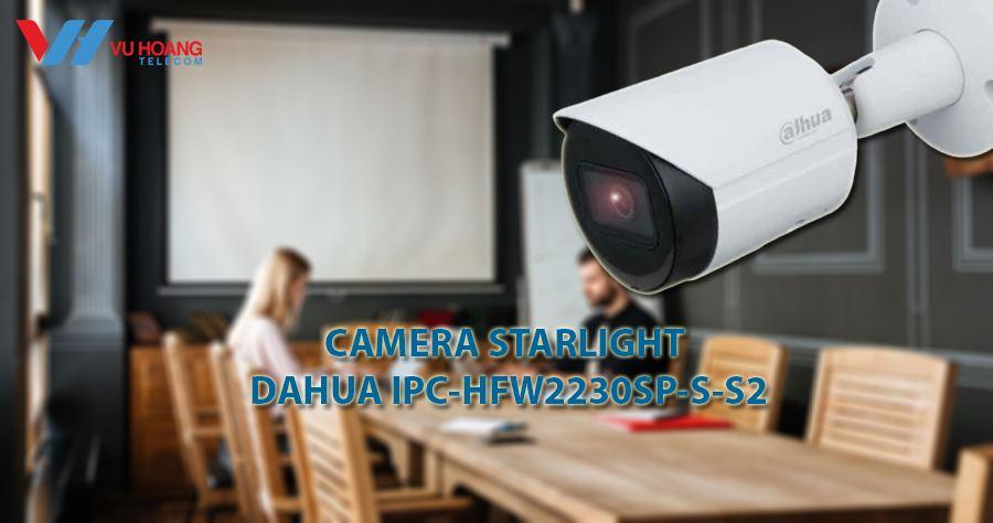 Camera IP Starlight 2.0MP DAHUA IPC-HFW2230SP-S-S2