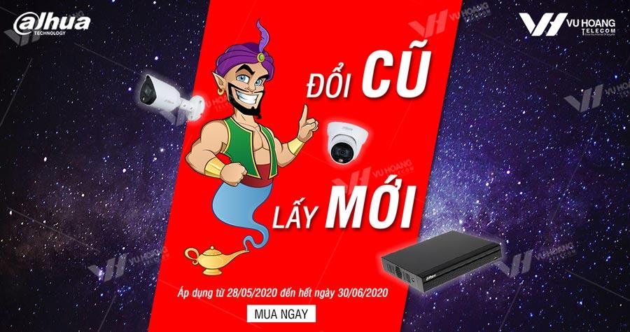 Khuyến mãi thần đèn DAHUA 2020 – Camera HDCVI Full Color
