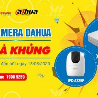 Khuyến mãi mua camera HDCVI DAHUA tặng quà ưu đãi