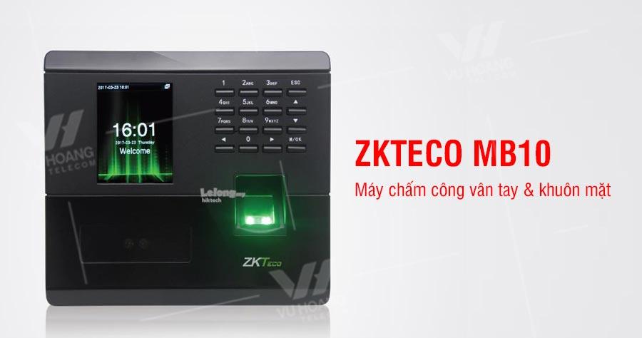 Máy chấm công vân tay ZKTECO MB10