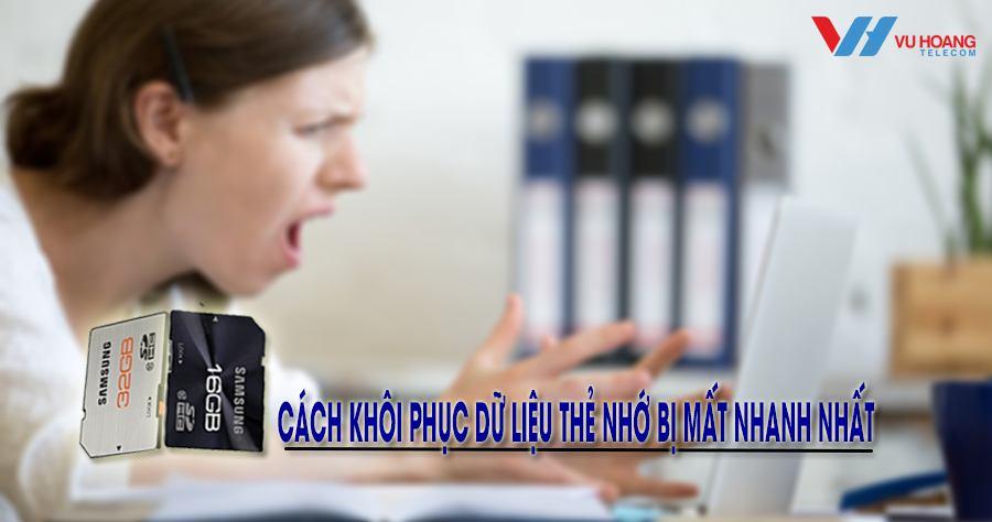 cach khoi phuc du lieu the nho bi mat nhanh nhat