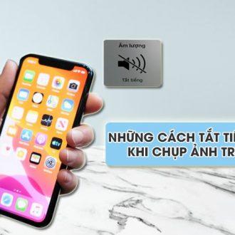 cach tat tieng camera khi chup anh tren iphone