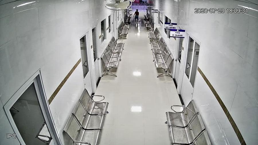 Camera KBVISION KX-A2011TN3 lắp thực tế cho bệnh viện