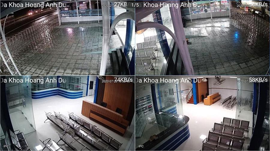 Lắp camera KBVISION cho bệnh viện