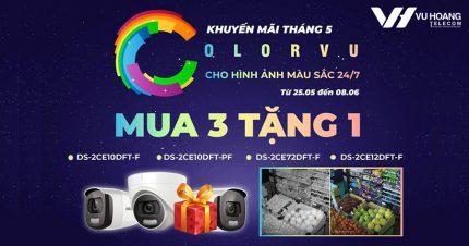 Khuyến mãi camera ColorVu-Mua 3 tặng 1