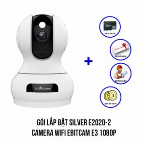 Lắp đặt camera Wifi EBITCAM E3 1080P