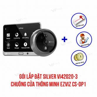 Lắp đặt chuông cửa thông minh EZVIZ gói SILVER VI42020-3