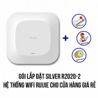 Lắp đặt hệ thống Wifi Ruijie cho cửa hàng gói Silver R2020-2