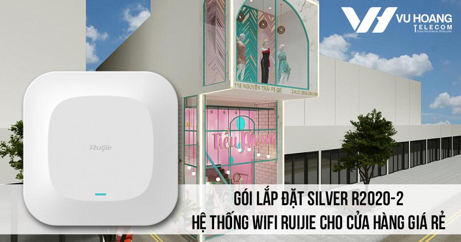 Lắp đặt hệ thống Wifi Ruijie cho cửa hàng giá rẻ